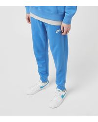 Nike Foundation Cuffed Fleece Pants - Azul