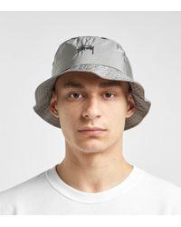Stussy - Taslan Bucket Hat - Lyst