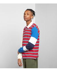 Stussy - Mix Up Rugby Shirt - Lyst
