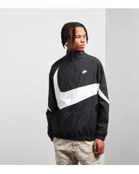 Nike - Swoosh Half Zip Woven Jacket - Lyst