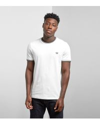 Fred Perry - Twin Tipped T-shirt - Lyst