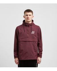 Huf - Marka Anorak (port Royale) Men's Coat - Lyst