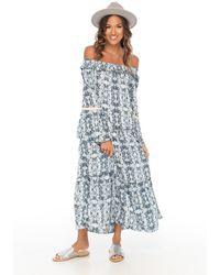Skemo Africa Lounge Dress - Blue