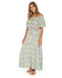 Skemo Dalrey Long Dress - Green
