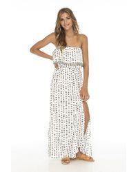 Skemo Santorini Ruffle Dress - Multicolor