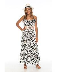 Skemo Seaside Flirty Long Dress - Black