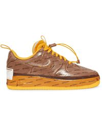 Nike Air Force 1 Experimental Trainers - Brown