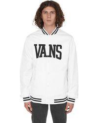 Vans Svd University Jacket White S