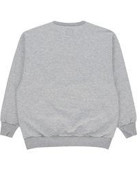 WTAPS Dawn. Design Crewneck Sweatshirt - Grey