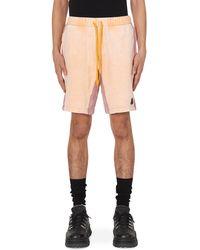 Cav Empt Overdye Sweatshorts - Orange
