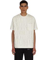 Li-ning Pleated T-shirt - White
