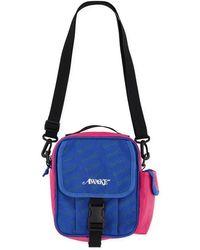 AWAKE NY - C All Over Tonal 3m Print Side Bag Blue - Lyst b99dd25996