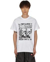 SLAM JAM Brain Dead Charity T-shirt - White
