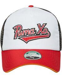 PUMA - Xo Homage Trucker Hat - Lyst