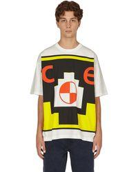 Cav Empt Caveat ziggurat Big T-shirt - White