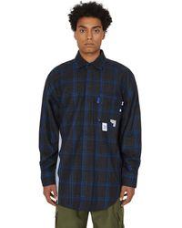 ADER error Stain Shirt - Blue