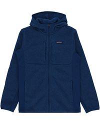 Patagonia Lightweight Better Sweater Fleece Hood - Blue