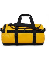 The North Face - Base Camp Duffle L Bag Summit Gold/black - Lyst