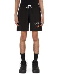 Noah Rugby Cloth Shorts Black S