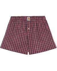 Carhartt WIP Cotton Boxers - Red
