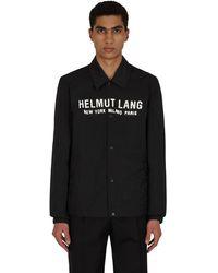Helmut Lang Stadium Jacket White/black M