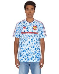 adidas Originals Mufc Hufc Jersey T-shirt - Blue