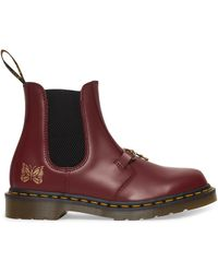 Dr. Martens - Needles 2976 Chelsea Boots Cherry Red 4 - Lyst