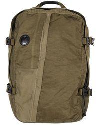 C P Company Nylon Backpack - Green