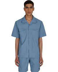 Gramicci Shell Camp Shirt - Blue