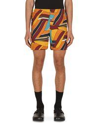Noah Abstract Swim Shorts - Multicolour