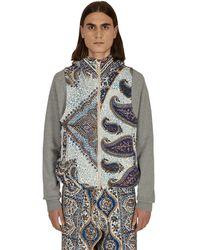 Paria Farzaneh Printed Vest - Blue