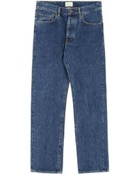 a9410305b8bfe2 Lyst - Aries Lilly High-rise Straight-leg Jeans in Blue