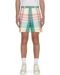 Noah Madras Shorts - Multicolour