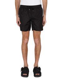 Moncler Drawstring Swim Shorts - Black