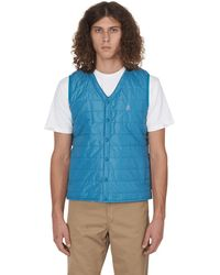 Gramicci Quilted Shell Gilet - Blue
