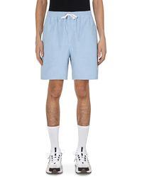 Noah Cord Drawstring Shorts Sky S - Blue