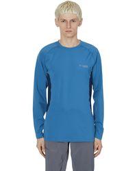 Columbia Omni-heat 3d Longsleeve T-shirt - Blue