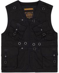 Neighborhood Md C-vest Jacket - Black