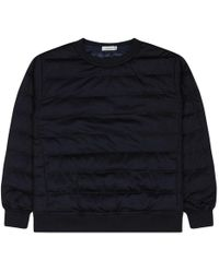 Nanamica - Down Crewneck Sweater - Lyst