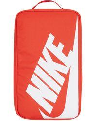 Nike Shoe Box Orange/orange U