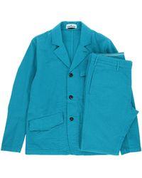 Stone Island Suit - Blue