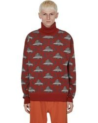Undercover Valentino Knitwear - Red