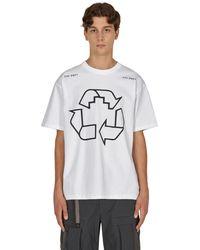 Cav Empt ziggurat Cycle T-shirt - White