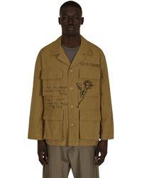 Neighborhood Ootd Jacket Beige S - Natural