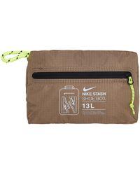 Nike Stash Shoe Bag Sandalwood/white U - Brown