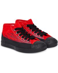 Converse Jacket Purcell Chukk 'asap Nast' Shoes - Size 5 - Red