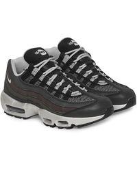 Nike Air Max 95 Premium Trainers Black/metallic Silver 39