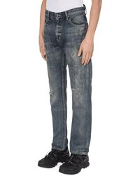 Neighborhood Slam Jam Savage Denim Trousers - Blue