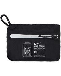 Nike Stash Shoe Bag Black/white U