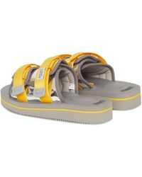 Suicoke Moto-veu3 Slippers - Yellow